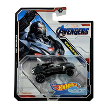 Hot Wheels Marvel Avengers War Machine First Appearance Character Cars MOC - $14.88