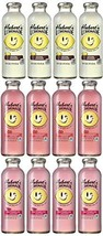 LUV-BOX Variety HUBERT'S Lemonade Juice pack of 12 , 16fl oz , Original , Strawb