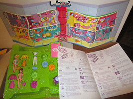 2004 POLLY POCKET Fashion Beach Board Game DOLLS Clothes MORE! Ages 5+ - $19.95