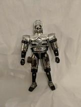 "Beetleborgs Metallix Action Figure Slashing Grappler ""Titanium Silver"" 6"" - $9.99"