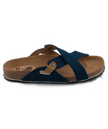 Vegan Flat Sandal Crossed Strap Recycled PET Insole Comfort Organic Arch... - $74.75+