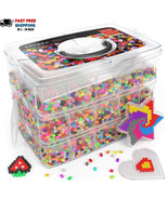 Fuse Beads 30,000 pieces Set 45 Colors Perler beads kids craft supplies ... - $41.00