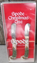 Spode Canape Set of 2 Christmas Tree Knives - $15.00