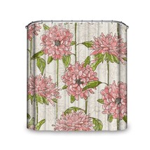 Popeven® Blossom Pink Flower Chinese Classical Elegant Painting Shower C... - $44.16