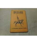 Vintage 1965 Lady Bird Book Richard The Lion Heart  Series 561 - $7.94
