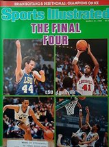 Sports Illustrated March 31 1986 The Final Dozen LSU Louisville Duke Kan... - $0.98