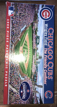 Masterpieces Chicago Cubs Wrigley Field 1000 Piece Panoramic Jigsaw Puzzle Used - $20.00
