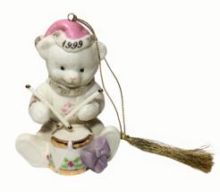 Lenox Classics Teddy's Christmas Wish 1999 Ornament Limited Edition Drum... - $24.99