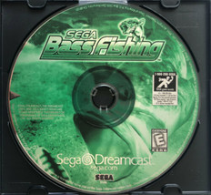 ⭐ Sega Bass Fishing (Sega Dreamcast 1999) AUTHENTIC Game Disc ONLY Works ⭐ - $8.50