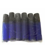 Cobalt Blue Glass Roll On Bottles with Stainless Steel Roller Balls 10 m... - $9.46