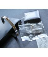 Avon Fancy Serling Silver Cross Blue Topaz Necklace & Silver Cross Cuff ... - $29.00
