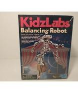 4M KIDZ LABS BALANCING ROBOT  EDUCATIONAL SCIENCE & ACTIVITY KIT TOYSMITH New - $13.00