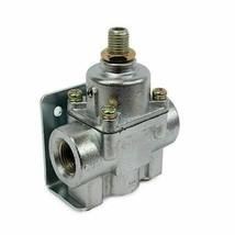 A-Team Performance Fuel Pump Fuel Pressure Regulator 4.5-9 PSI Gasoline Chrome