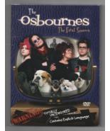 The Osbournes The First Season DVD Ozzy Osbourne Season 1 - $34.65