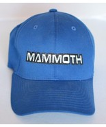 Baseball Cap Hat Blue Mammoth Flexfit, Fitted, L - XL - $14.84