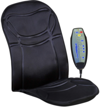 Relaxzen 6-Motor Massage Seat Cushion with Heat - $40.86