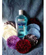 Sea Breeeze Astringent and 20 Assorted Random Mix Crochet Scrubbers. - $20.00