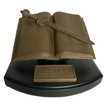 Lighthouse Christian Religious Bible Sculpture The Word of God Hebrews 4:12 - $39.59