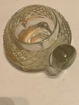 Vintage Old Turtle Candle Holder Glass - £14.29 GBP