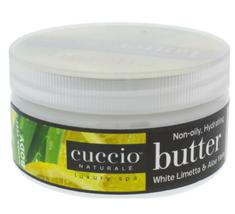 Cuccio Naturale Butter Blend,   White Limetta & Aloe Vera  8oz (226g)