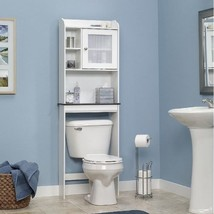 Over The Toilet Space Saver Shelves Bathroom Storage Cabinet Bath Organi... - $89.09