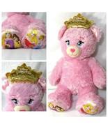 Build A Bear Disney Princess Rapunzel Belle Cinderella Aurora Pink Spar... - $24.74