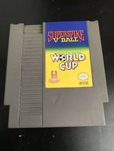 NES Superspike V'Ball World Cup Nintendo Cartridge 1985 - $7.87
