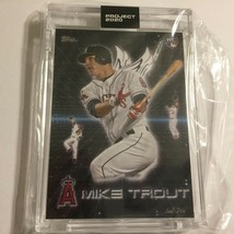 Topps Project 2020 Los Angeles Angels Mike Trout #247 Limited Print in Hard Case - $29.95