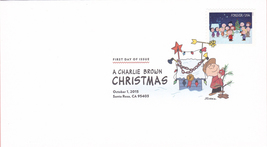 US #5021-30 2015 First-Class Issue Set Charlie Brown Snoopy Contemporary Christm image 3