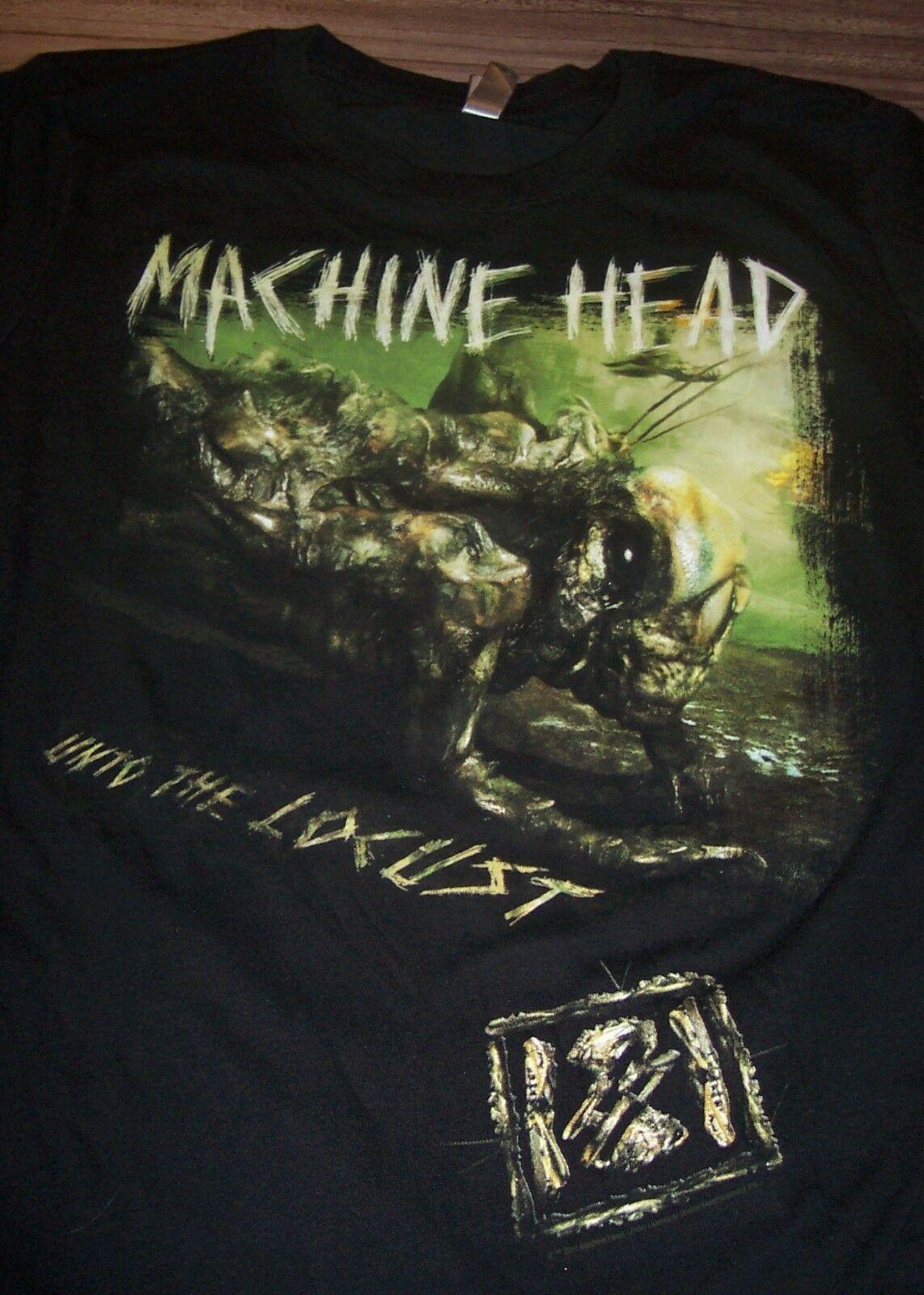 WOMEN'S TEEN MACHINE HEAD The Eighth Plague Tour 2012 T-shirt XL Metal Band NEW - $19.80