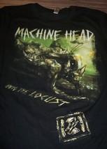 WOMEN'S TEEN MACHINE HEAD The Eighth Plague Tour 2012 T-shirt XL Metal B... - $19.80