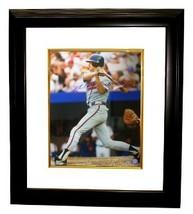 Dale Murphy signed Atlanta Braves 16x20 Photo Custom Framed - $136.95