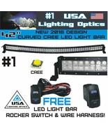 """No.1 42"""" Curved 240W USA CREE LED Light Bar Combo Beam 4x4 SUV UTV RZR SxS - $115.78"""