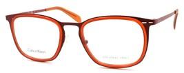 Calvin Klein CK5416 615 Men's Eyeglasses Frames 51-20-140 Red ITALY - $53.36