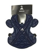 New Adidas Pro Series Catcher's Chest Protector 2.0 Size 17'' Navy Blue ... - $59.99
