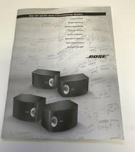 Bose 201 / 301 Series V Direct Reflecting Speakers Original Owner's Guide - $9.99