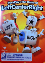 Left Center Right Dice Game Inside Game Travel Tin - $8.00