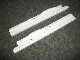 WP67001054 Maytag Kenmore Refrigerator Snack Pan Rails WP67001053 - $15.00