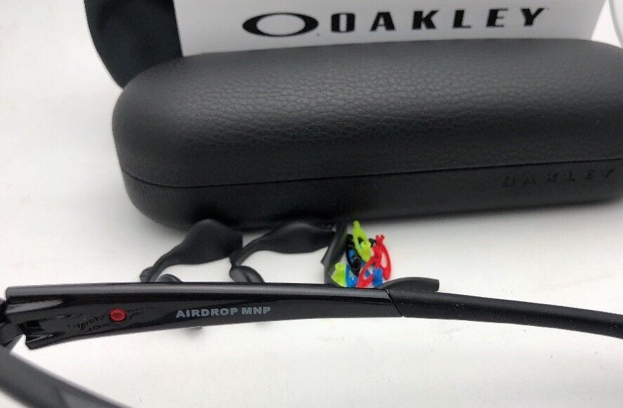 86800edfc3 New OAKLEY Eyeglasses AIRDROP MPN OX8121-0255 55-17 139 Polished Black  Frames