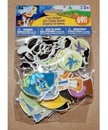 "Halloween Foam Stickers 69pc Wizard Of Oz Birds Bats & Witches 2"" x 1 1/... - $4.94"