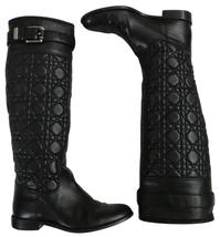Dior quilted nappa leather boots - $580.00