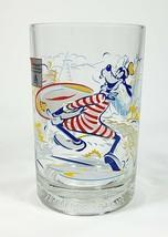 Walt Disney Goofy Drinking Glass 25th Anniversary Blizzard Beach Typhoon - $10.44