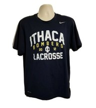 2012 Nike Dry Fit Ithaca College Bombers Lacrosse Adult Large Blue Jersey - $29.69