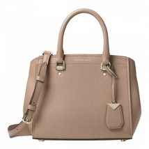 Michael Kors Benning Large Convertible Satchel Shoulder Bag Truffle Beige - $109.08