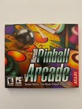 Atari Pinball Arcade Microsoft CD ROM 2003 WIN95/98/NT Seven Tables  - $11.29