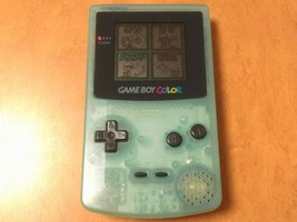 Limited Color Ice Blue Game Boy Color Used Confirmed Operation GBC Ninte... - $146.64 CAD