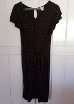 Motherhood Maternity Brown Polka Dot Dress Size XL - $19.95
