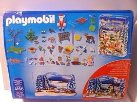 Christmas Advent Calendar 2011 Playmobil UNUSED OPEN BX Forest Winter Wo... - $32.62
