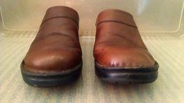 Josef Seibel Womens Clogs 38 EU 7 - 7.5 US Mules Slip On European Comfort Shoe image 5