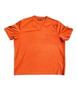 PERRY ELLIS Men's Burnt Orange V-Neck Short Sleeve T-Shirt Size XXL - $14.36
